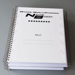 Cahier de note co-pilote