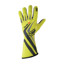 Gants OMP ONE-S Yellow Fluo...