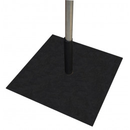 Embase carrée 40x40 cm