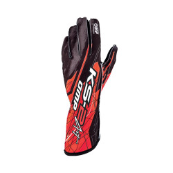 Gants OMP KS-2 Art Red